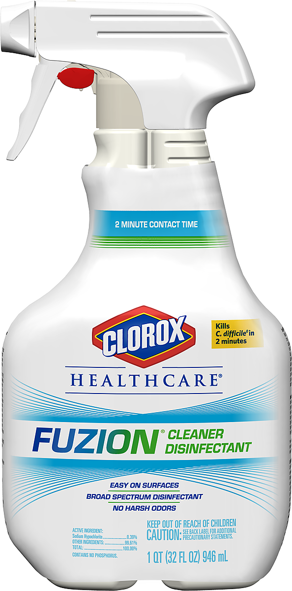 Clorox Healthcare 174 Fuzion 174 Cleaner Disinfectant Cloroxpro
