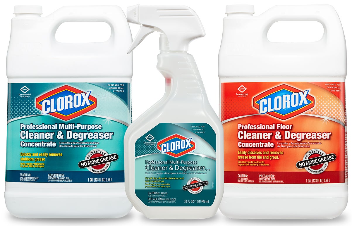 Clorox® Cleaners & Degreasers - Industrial Cleaning   CloroxPro