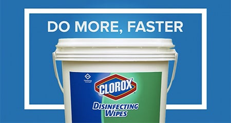 Do More Faster With Clorox 174 Disinfecting Wipes Cloroxpro