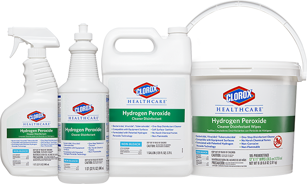 Clorox Healthcare 174 Hydrogen Peroxide Cleaner Disinfectants